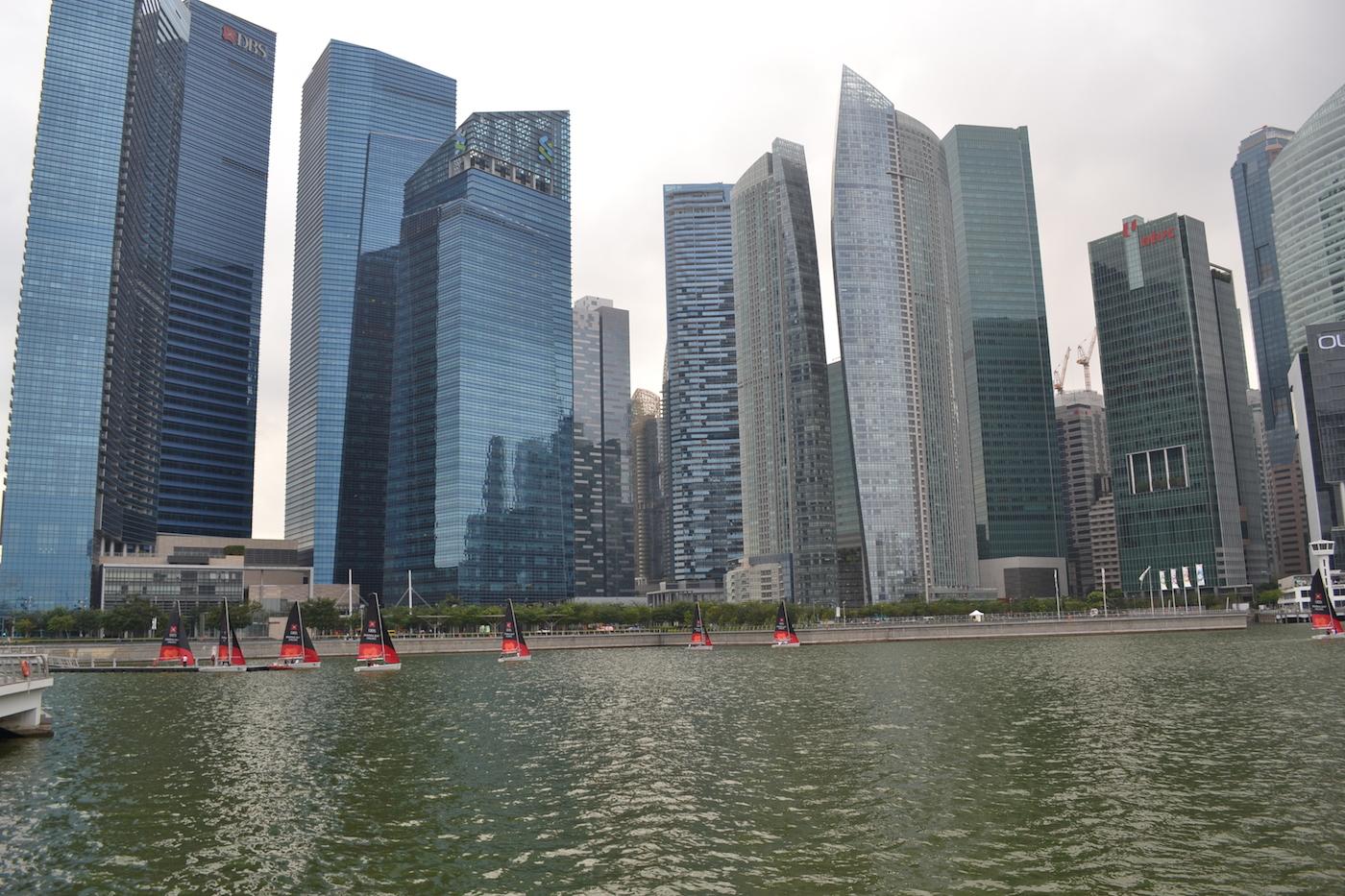 Singapore Marina Bay Buildings