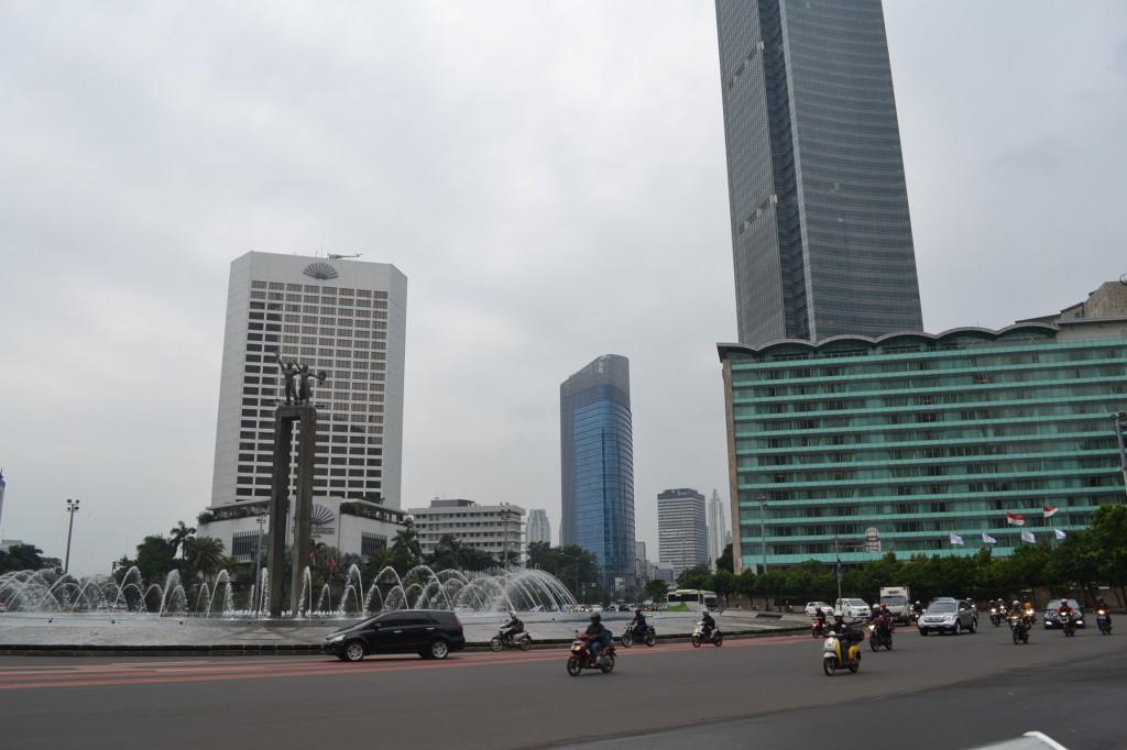 Jakarta - Plaza Indonesia - Roundabout