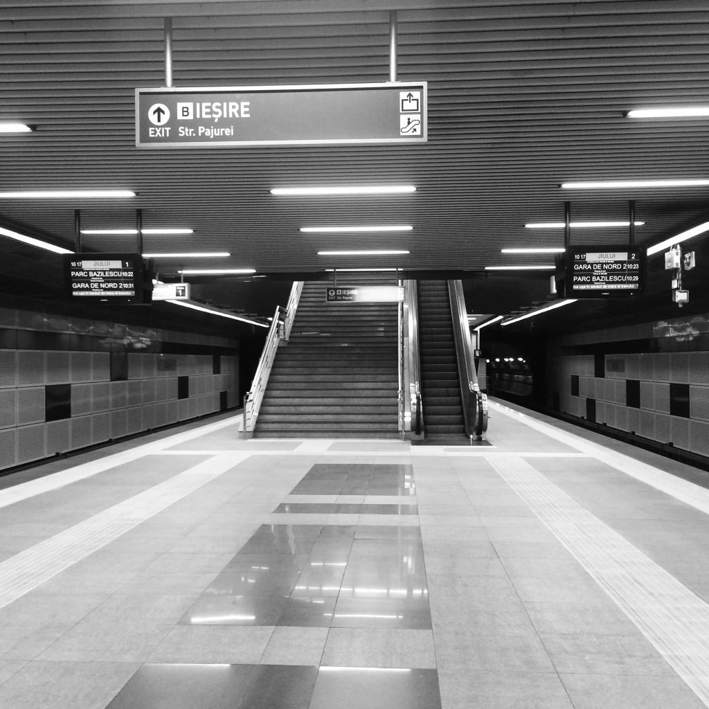 Statie Metrou Jiului - Pajura - Bucurestii Noi