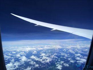 poză din avion