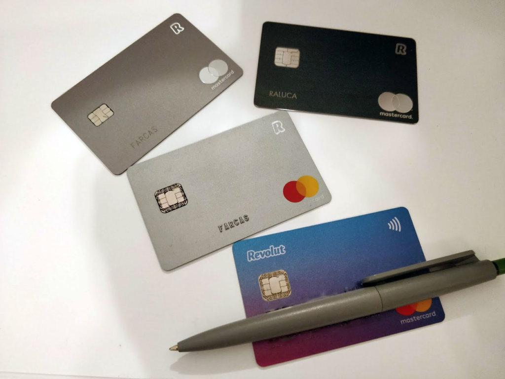 Carduri Revolut - Standard, Premium și Metal