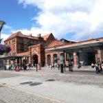 Arhitectura deosebită a gării din Malmo