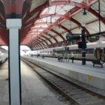 Gara Malmo - trenuri de mare viteză care fac legătura cu Suedia
