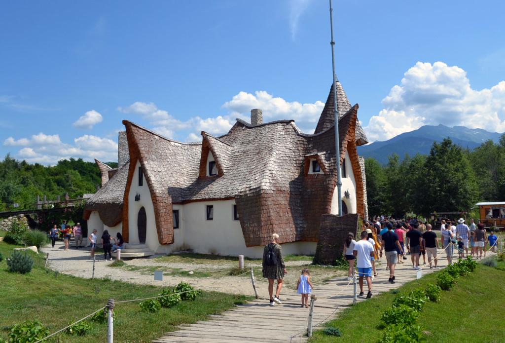 Castelul de Lut Valea Zânelor, Sibiu, Porumbacu de Sus, Sibiu